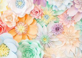 今、海外DIY Weddingで日本の『折り紙』がじわじわ流行!華やかな柄に、願いをこめて♡ | marry[マリー]