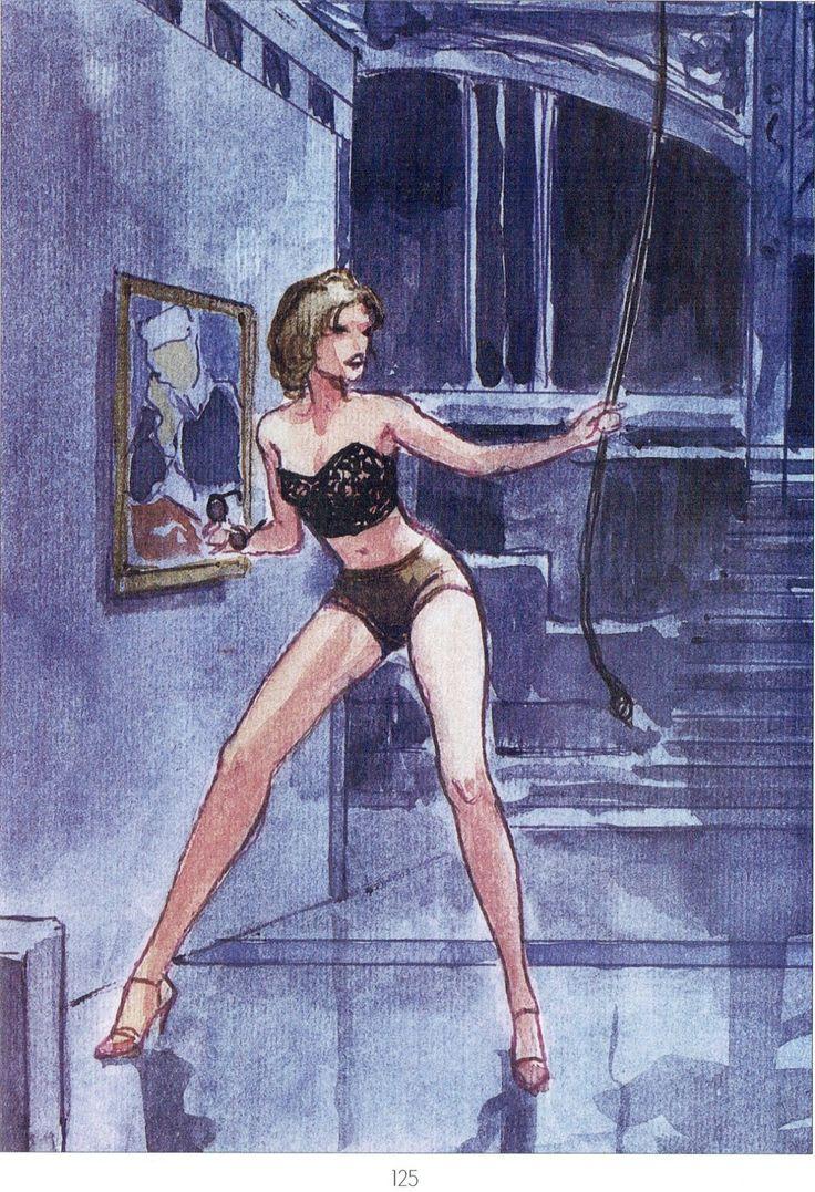 Manara Maestro dell'Eros-Vol. 23, Manara e il teatro-125