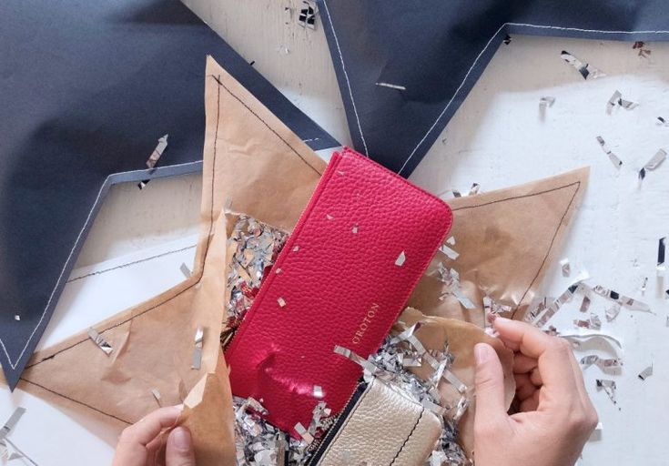 A Pair & A Spare   Creative Wrapping Idea: DIY Stitched Up Gift Wrap