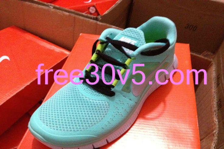 buy popular b0032 8de62 ... Half Off Nikes 49.88, Mint Green Nike Free Run 3 Black Lace Fashion  Pinterest Half ...