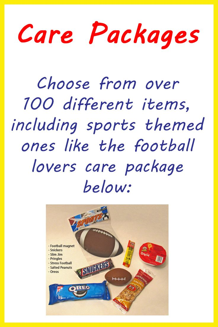 Football, basketball, baseball, soccer, we've got sports items, snacks, and other goodies, including pet toys in our Build Your Own box option that has over 100 items to choose from.