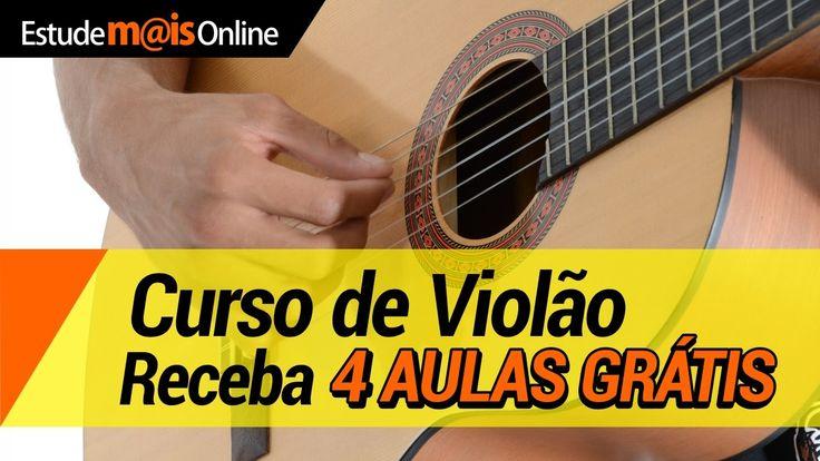 Curso de Violão Com 4 Aulas Grátis - Aprenda a tocar primeiras músicas em 30 dias.