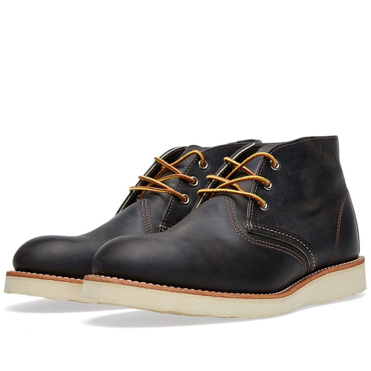 Red Wing 3150 Heritage Work Chukka (Charcoal Rough & Tough)