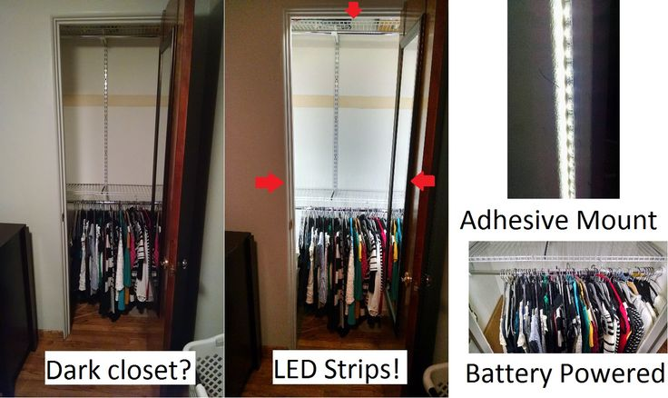 Wiring Closet Light