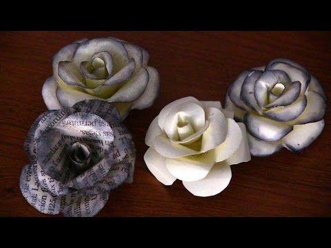 Flores de papel (Rosas)