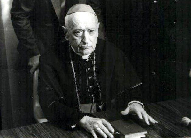 "CARDINAL JOSEPH MINDSZENTY - ""Mind Games"" This Man Lived Inside US Embassy in Hungary for 15 years after being tortured & imprisoned by Nazis & the Communists"