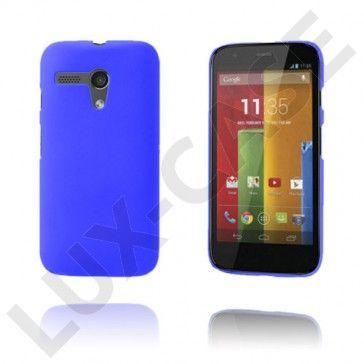 Hard Shell (Blå) Motorola Moto G Deksel
