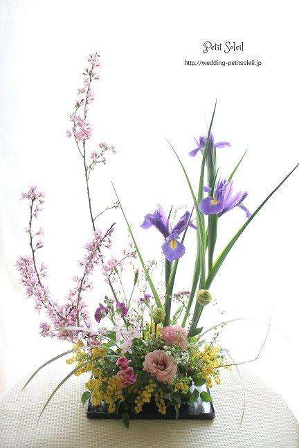 和風装花 ゲストテーブル