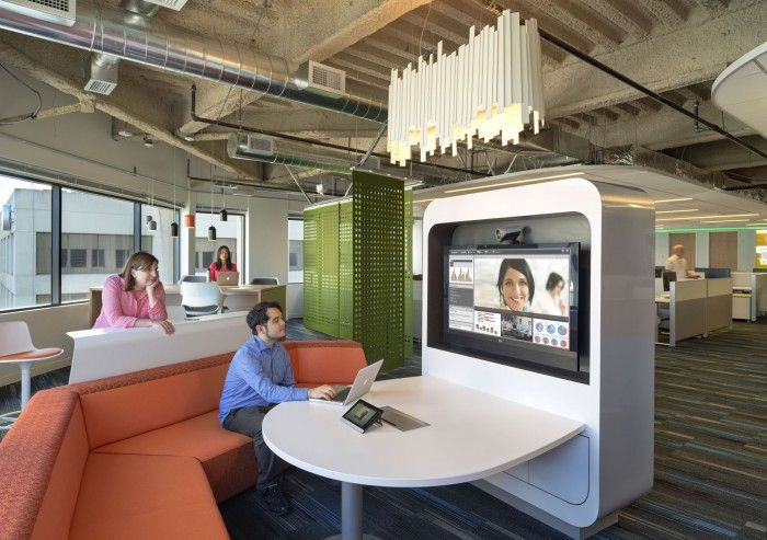 Office prototype for Kaiser Permanente Information Technology via