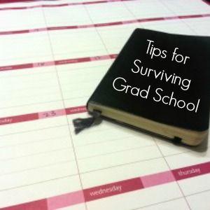 Surviving Graduate School - Ms. Career Girl