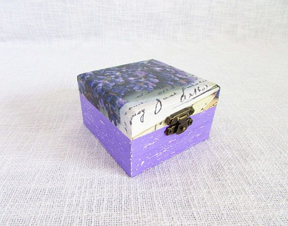 Lavender box custom gift custom wedding gift wedding favor
