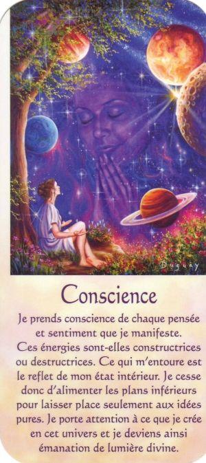conscience texte