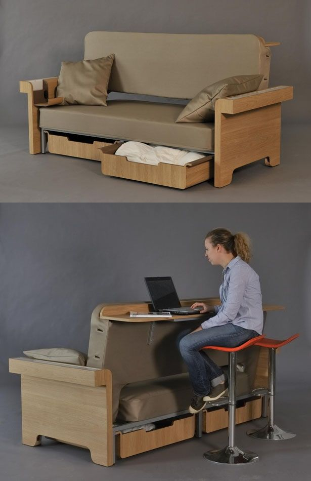 Multi functional furniture pieces are easily the most