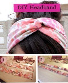 01 DIY CREATIVE IDEAS - LE FASCE  per i capelli - HEAD BAND - on Pinterest