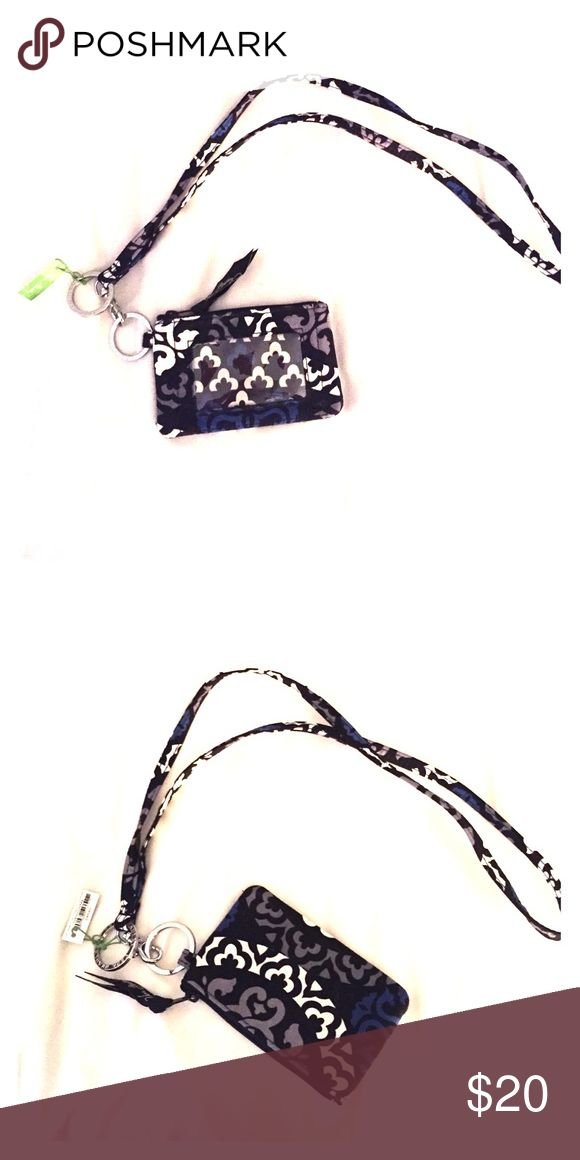 Brand new Vera Bradley wallet with lanyard Brand new Vera Bradley wallet Vera Bradley Bags Wallets