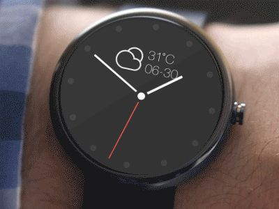 Watch slider! (Android Wear) by Paul (@troshkin_pavel) on CodePen and Dribbble inspiration