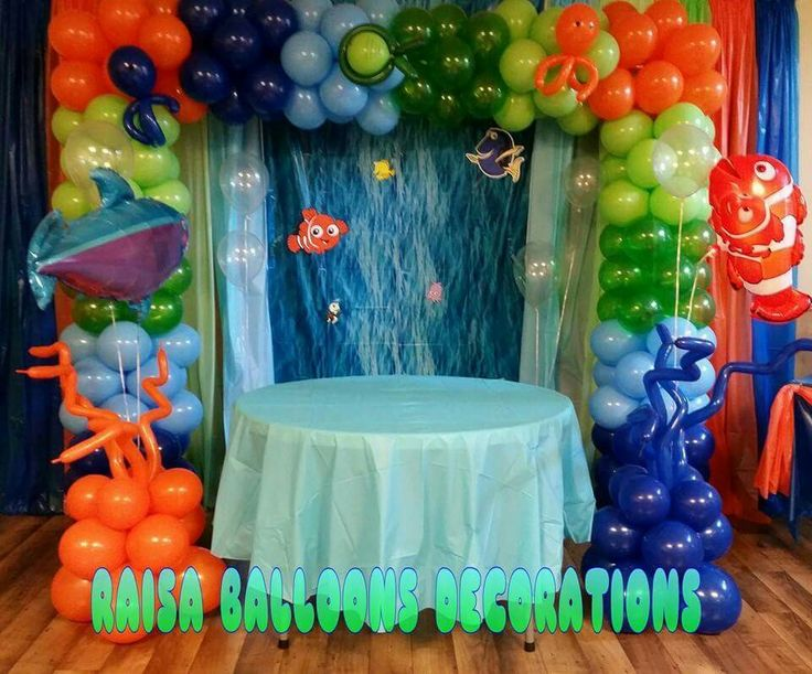 1000 images about find nemo on pinterest birthdays for Nemo decorations