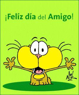 ¡Feliz día del amigo! | Imagen animada - ⊹ Imagenes de Amistad ⊹