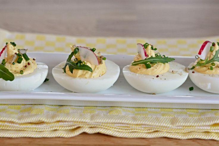 Kitchen story | Velikonoční plněná vejce | http://www.kitchenstory.cz