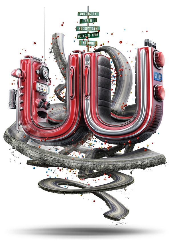 2011 UU THEORY by Mike Campau, via Behance