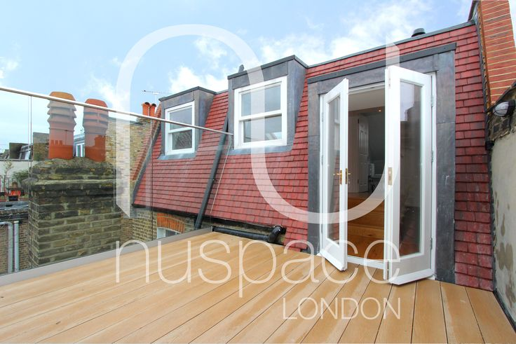 loft conversion with roof terrace