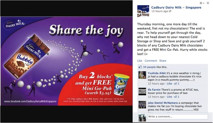 chocolate promotion strategy