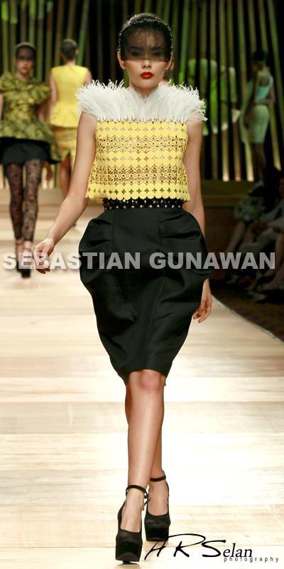 Tiara Westlake for Sebastian Gunawan Jakarta Fashion Week 2013 #photography #fashion #model