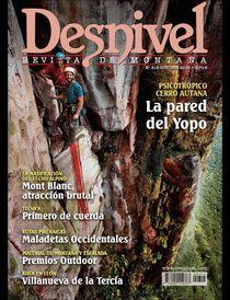 Desnivel: revista de montaña. Todo un referente para los amantes del montañismo. Con periodicidad mensual desde 1981.