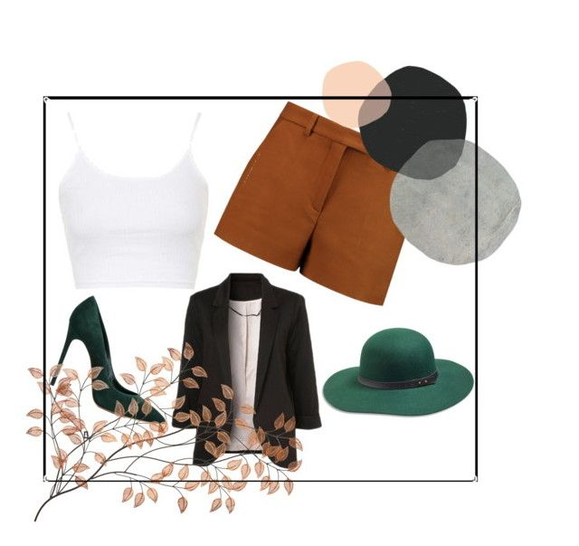"""""""Just a Little Bit of Fall"""" by ipeksell on Polyvore featuring Topshop, WithChic, Emilio Pucci, Casadei and Lucky Brand"""