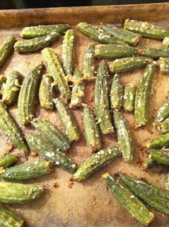 What's For Dinner?: Parmesan Roasted Okra
