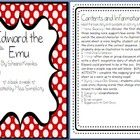 A book a week:  Edward the Emu by Sheena Knowles    Read the book daily for a week and complete a activity a day - oh so simple!  Activities include;  ...