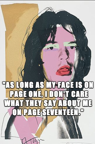 10 Mick Jagger quotes to get you through the day