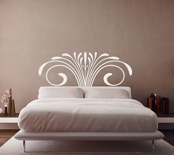 749 best stencil designs images on pinterest drawings for Mural headboard