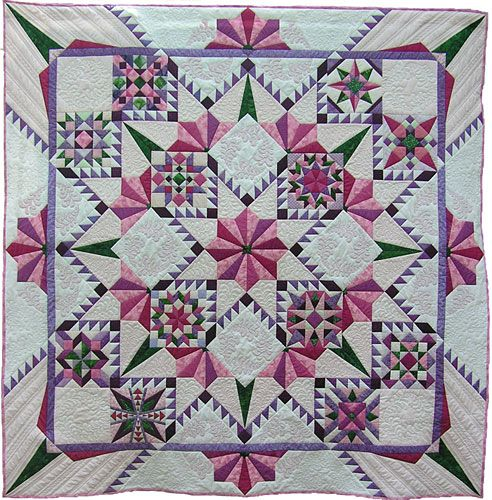 """Generations"" by Carol Seeley, Canadian Quilters' Association"