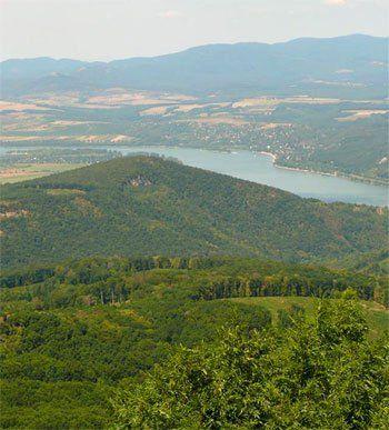 Dobogókő; beautiful countryside in Hungary.