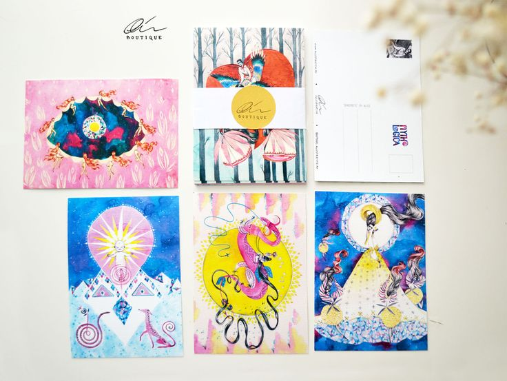 Allistration Boutique :: Mythologica Postcard Set