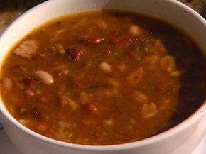 Receita de feijoada de amendoim, do Panela de Bairro (Foto: Reprodução/TV Bahia)