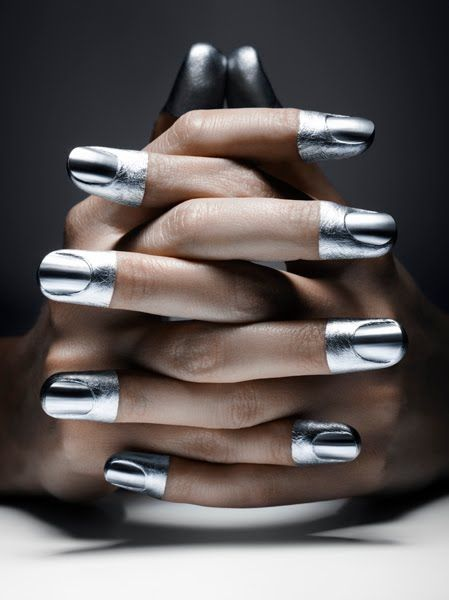 #Futuristic #Fashion #Polish #Makeup