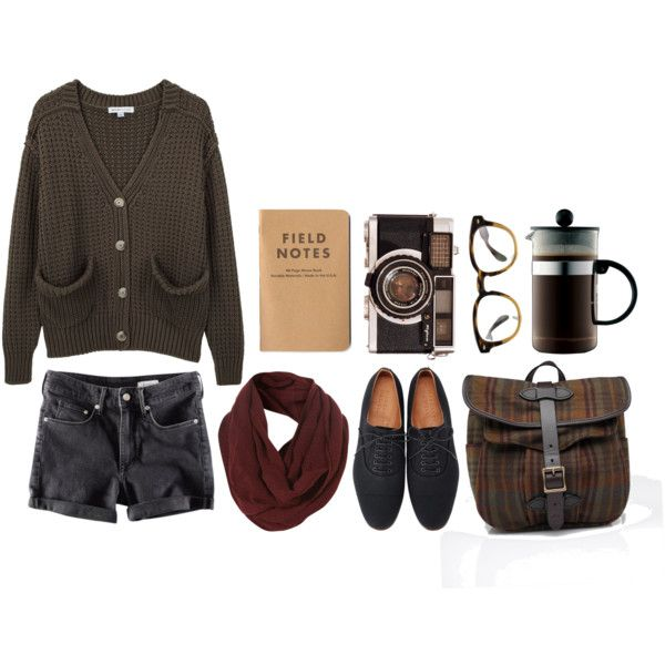 """""""Big Black Car - Gregory Alan Isakov"""" by rebeccarobert on Polyvore // maybe with some knee-highs"""