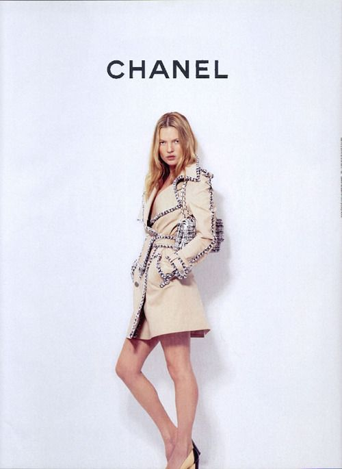 : Chanel Raincoat, Coco Chanel, Chanel Styles, Spring Summer, Chanel Spring, Katemoss, Styles Icons, Chanel Fashion, Kate Moss