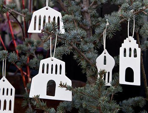 Christmas tree decorations by Kähler