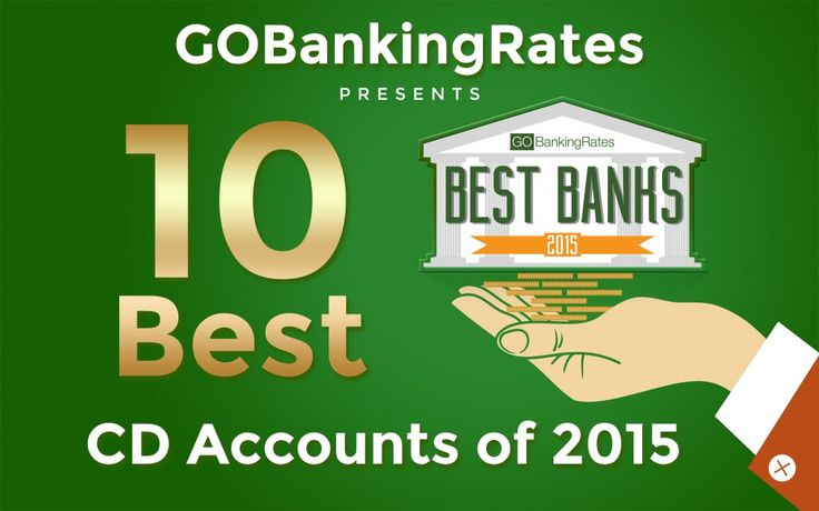 #SavingMoney In this review, we evaluated minimum deposits and interest rates to find the best CD accounts of 2015. Unsurprisingly, online banks made a huge appearance.