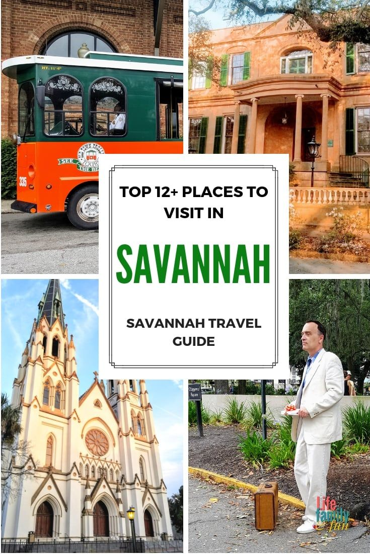 Whether You Re Visiting The City For Its Historic Value Or The Ghosts You Ll Find Several Attraction Options That Savannah Chat Family Travel Georgia Vacation