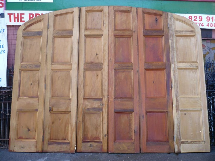 Temporary Wall Dividers Made From Doors Door Room