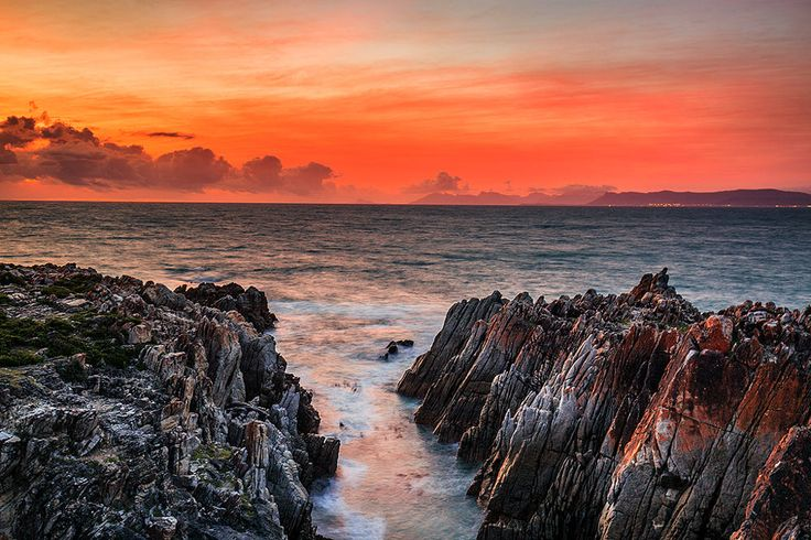 Red Sky Over Hermanus by Pat Cooper on 500px