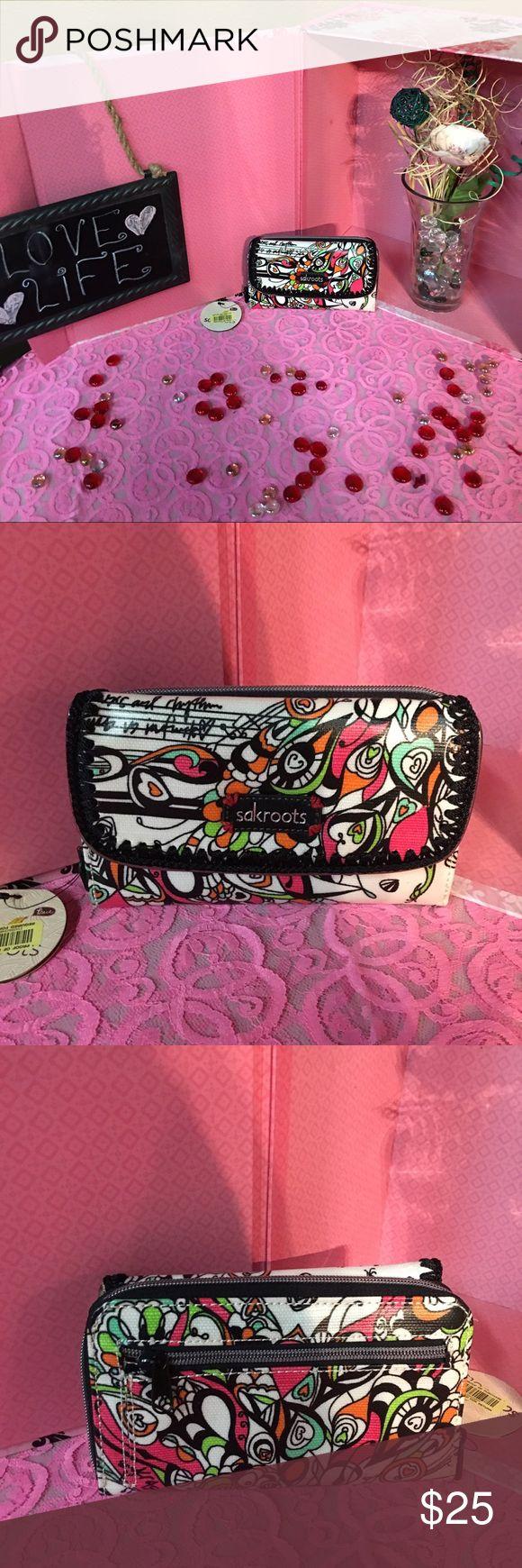 Sakroots wallet Super cute colored sakroots  wallet NWT Sakroots Bags Wallets