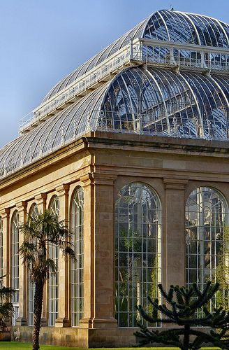 Edinburgh, Scotland: Glasshouse in the Royal Botanic Garden | Gerhard Wickler on