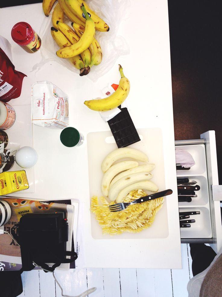 Banana muffins - step 2