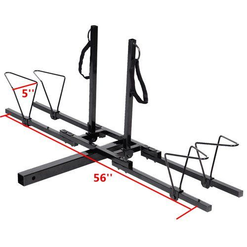 "New Upright 2 Mountain Bike Rack Hitch Carrier 2"" Rear for SUV VAN Truck Bike Rack >>> See this great product."