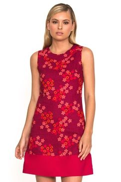 Sixties Tunic Spiral Pink